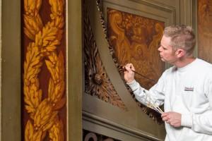 Paleis Het Loo - Muurschilderingen 1