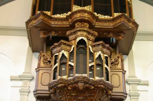 Vergulden orgel theater de Rode Hoed te Amsterdam 3
